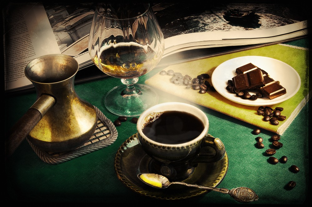 """фото """"Вечерний Кофе"""" метки: натюрморт, разное, Кофе"""