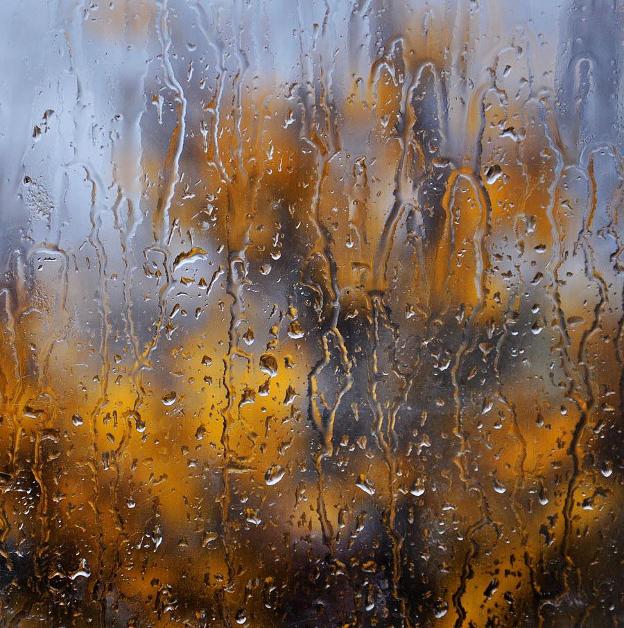 """фото """"Рыдала осень"""" метки: пейзаж, дождь, осень, стекло"""