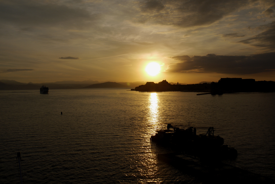 "photo ""Corfu Sunrise"" tags: landscape, travel, sea, sunrise"