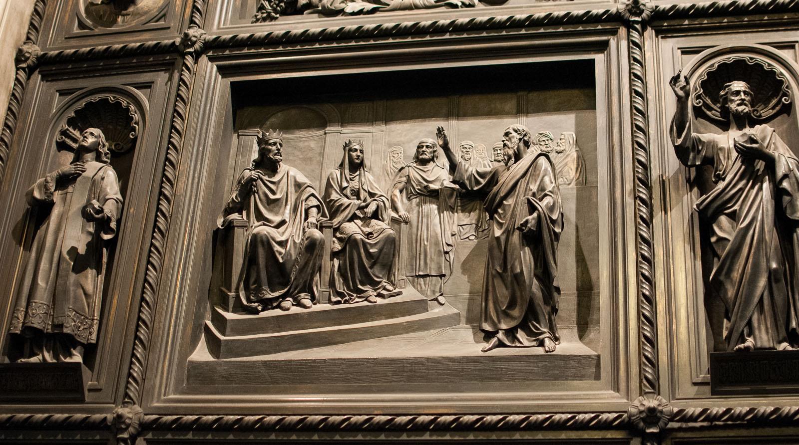 """фото """"Фрагмент двери в Исакиевском соборе"""" метки: архитектура, фрагмент, интерьер, дверь"""