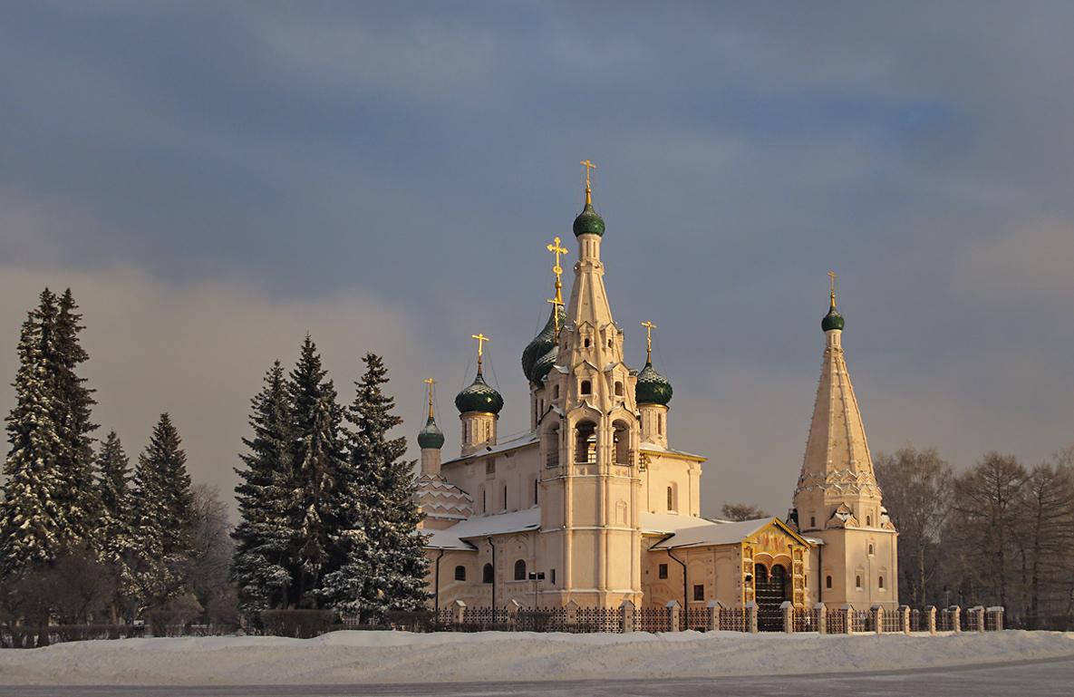 """фото """"В лучах зимнего солнца"""" метки: пейзаж, архитектура, город,"""
