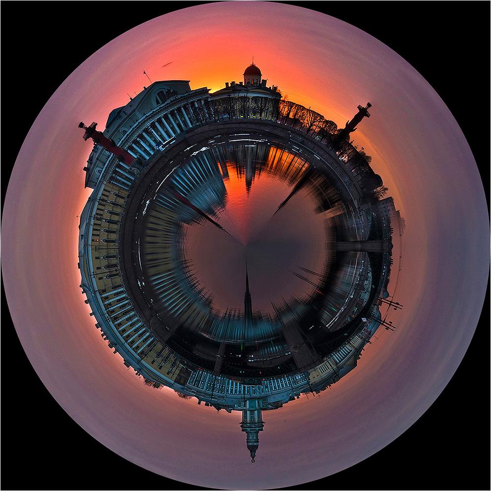 "фото ""Планета СПб"" метки: город, пейзаж, digital art,"