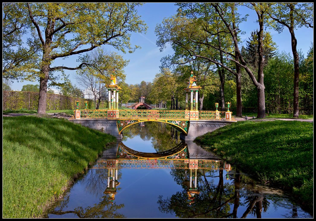 "photo ""Chinese bridge. Tsarskoye Selo"" tags: landscape, architecture,"