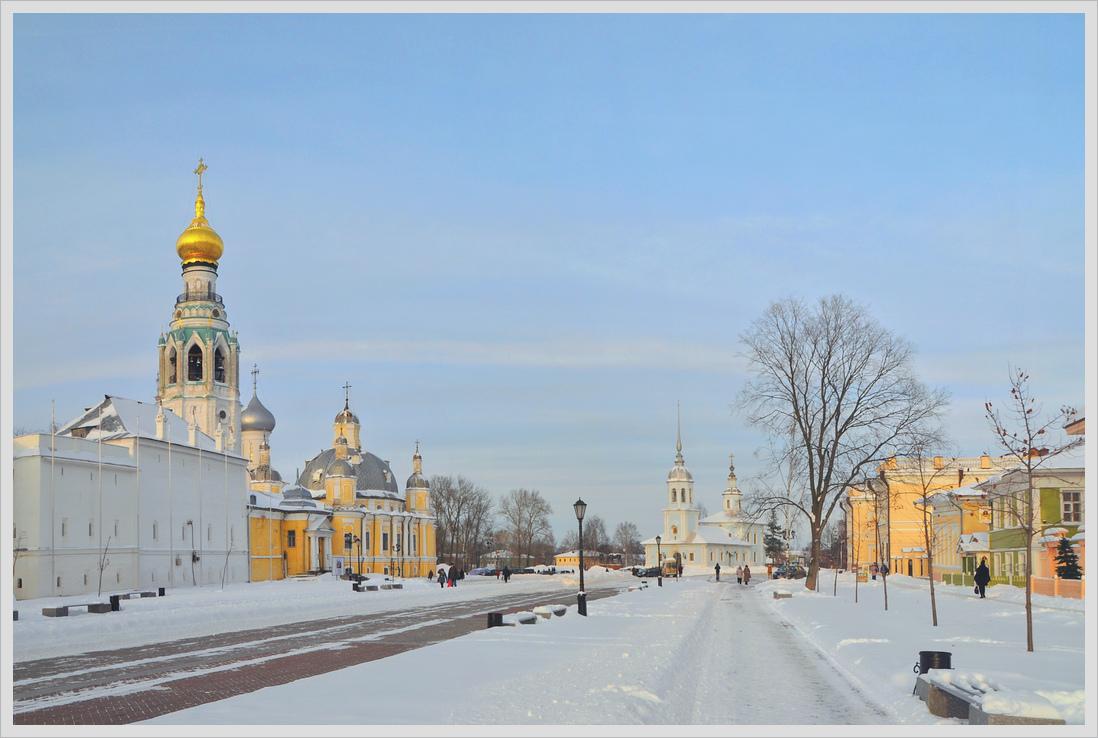 """фото """"Кремлевская площадь. Вологда."""" метки: город, Вологодчина"""