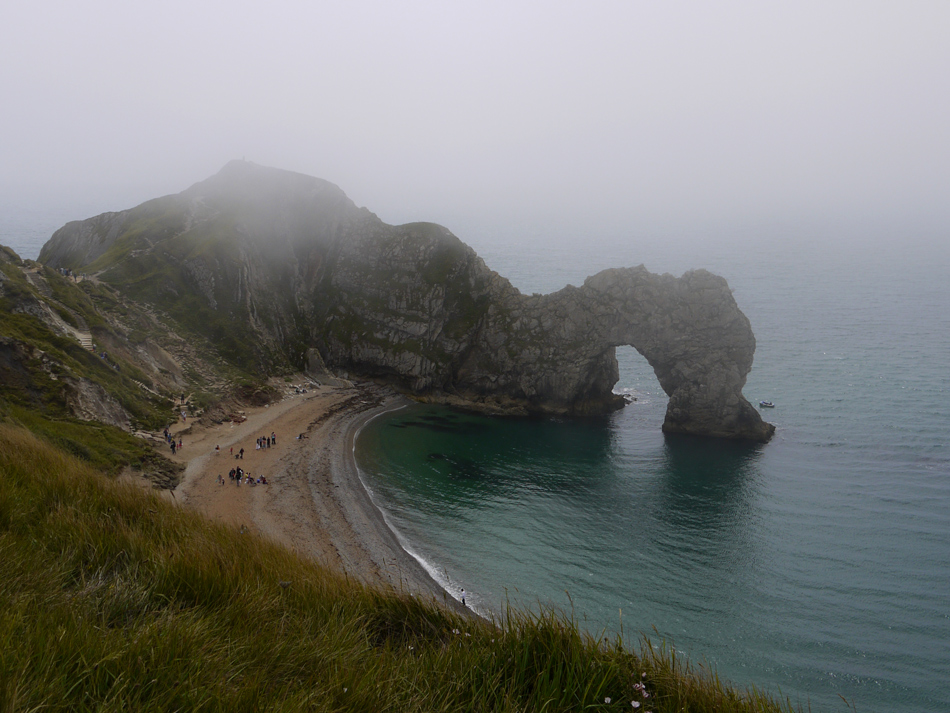 "фото ""A beach"" метки: пейзаж, fog, sea"