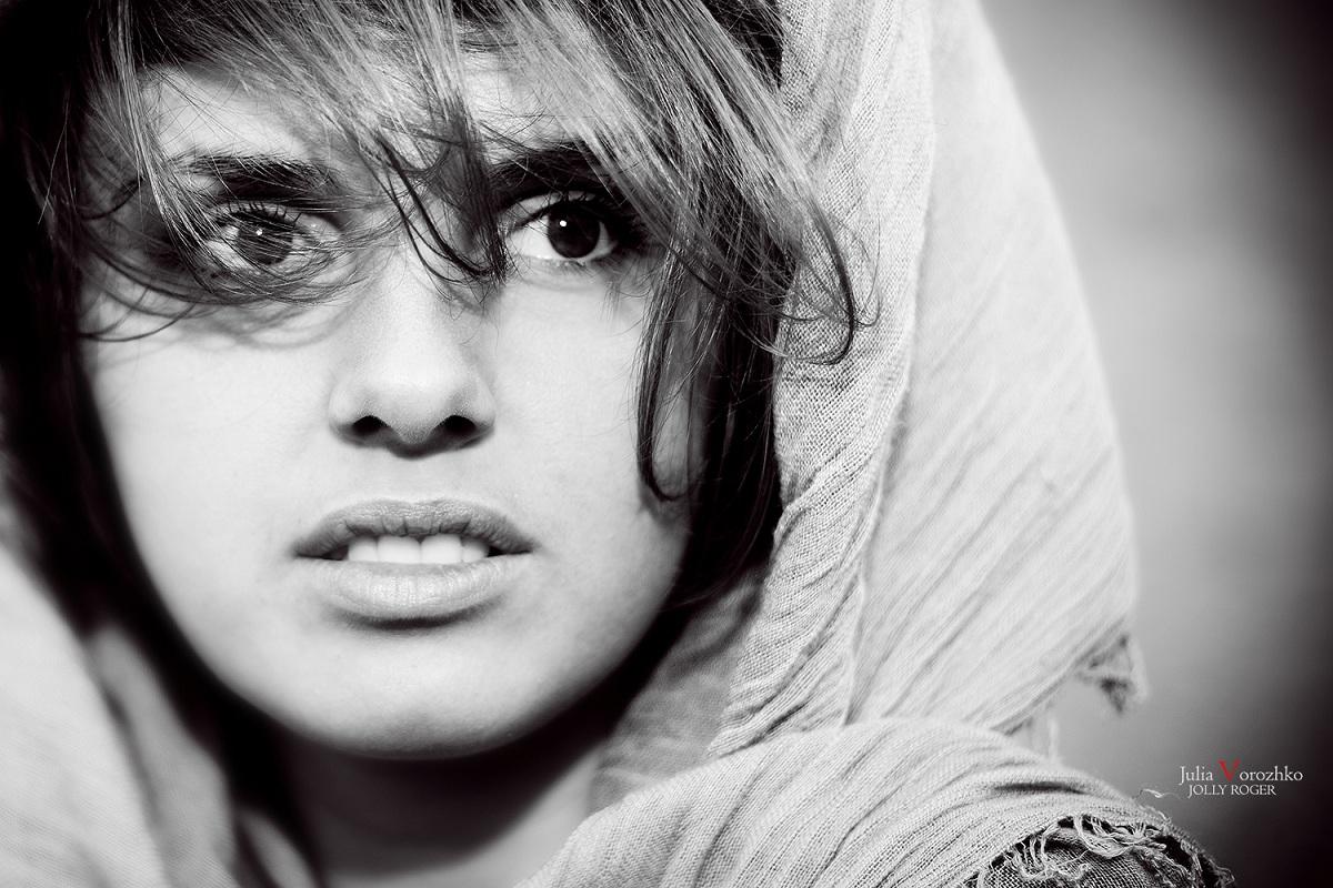 "фото ""Взгляд"" метки: портрет, черно-белые, Портрет, взгляд, глаза, девушка, красота"
