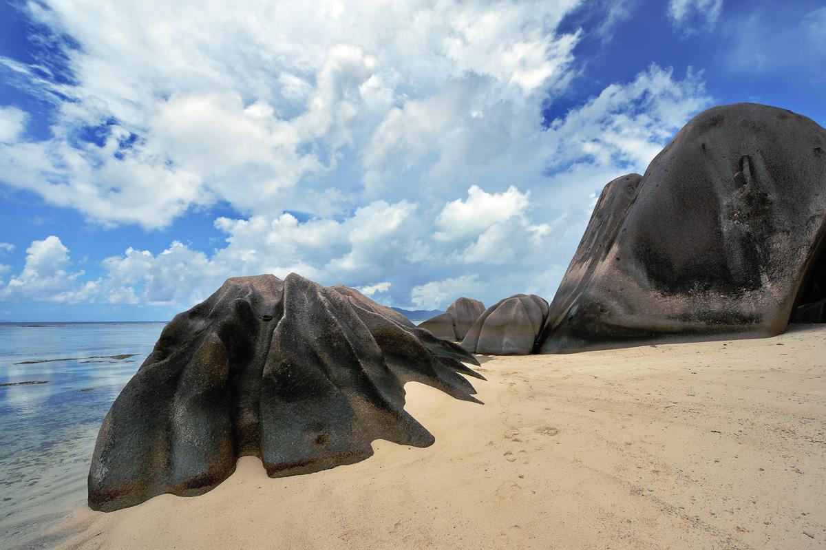 """фото """"***"""" метки: пейзаж, путешествия, природа, Африка, гранит, ла диг, лето, небо, песок, пляж, сейшелы, скалы, цвет, экзотика"""