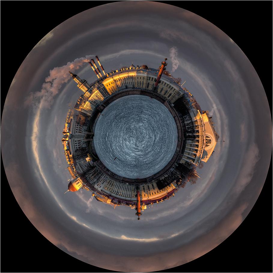 "фото ""Planet SPb"" метки: архитектура, город, digital art,"