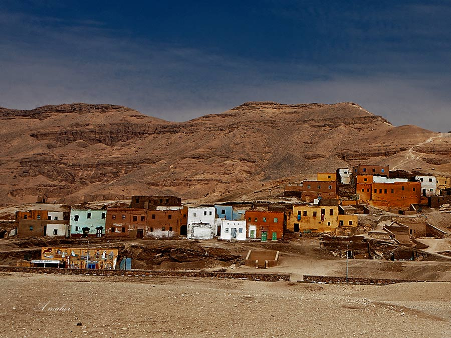 "photo ""Village in the desert"" tags: landscape,"