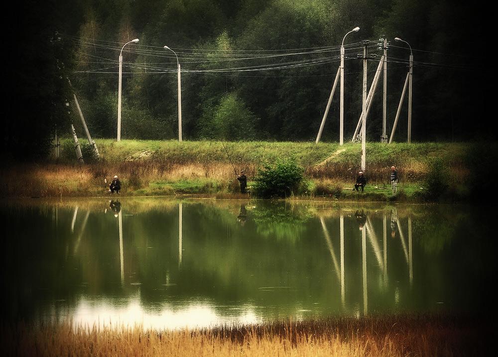 """фото """"Банальный сюжет про рыбалку"""" метки: ,"""