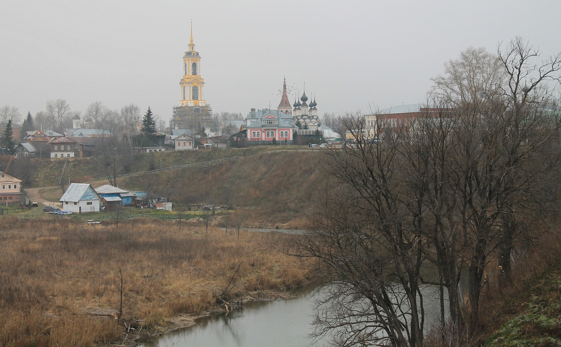 "photo ""Suzdal in november"" tags: landscape, architecture, travel,"
