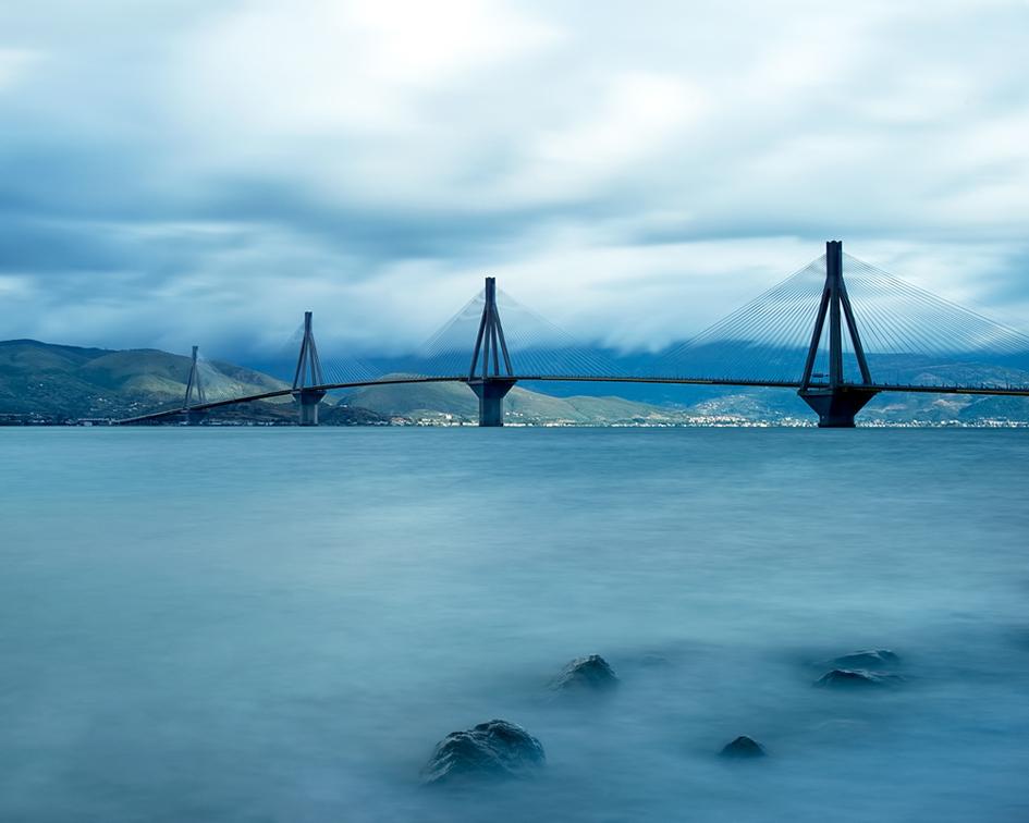 """фото """"Rio - Antirio bridge"""" метки: архитектура, путешествия,"""