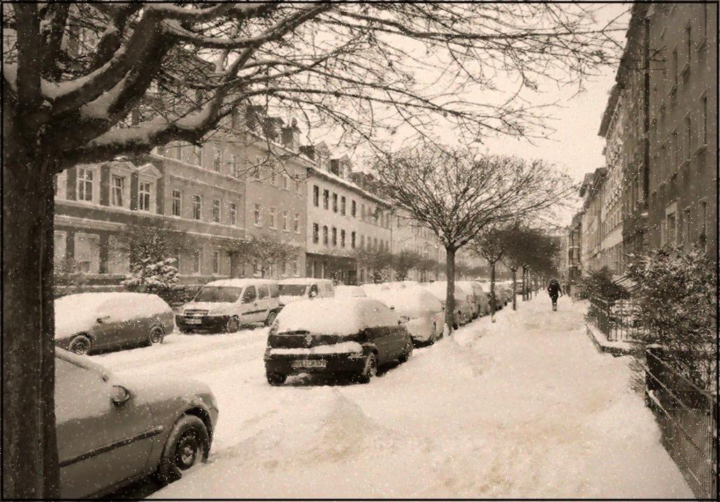 "фото ""Зимний этюд"" метки: пейзаж, город, foto liubos, бранденбург, германия, зима, снег, улочки"