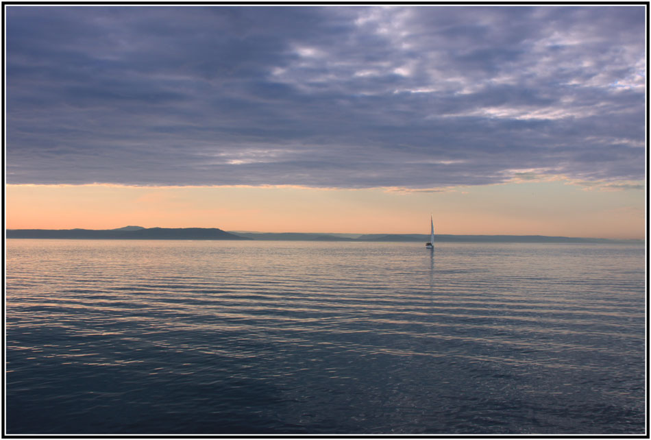 "фото ""***"" метки: пейзаж, закат, лето, море, яхты."