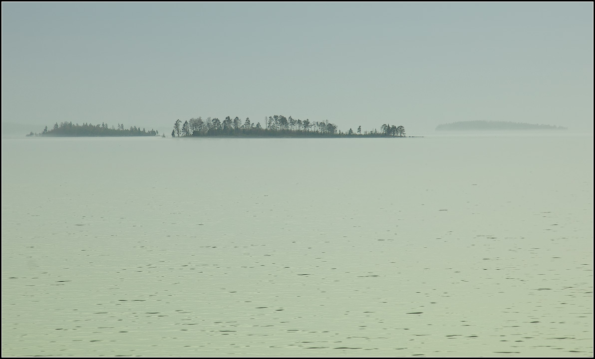 "photo ""Islands in the mist"" tags: landscape, nature, travel,"