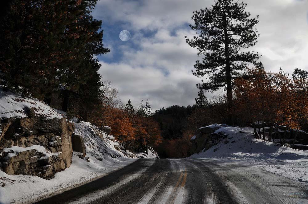 "фото """" On the way to Christmas Card Lake """" метки: пейзаж, разное,"