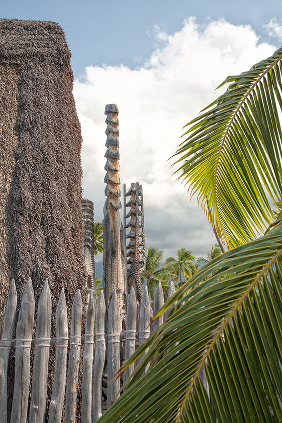 "фото ""Идолы"" метки: пейзаж, путешествия, природа, Big Island, Hawaii, Puuhonua o Honaunau, Гавайи"