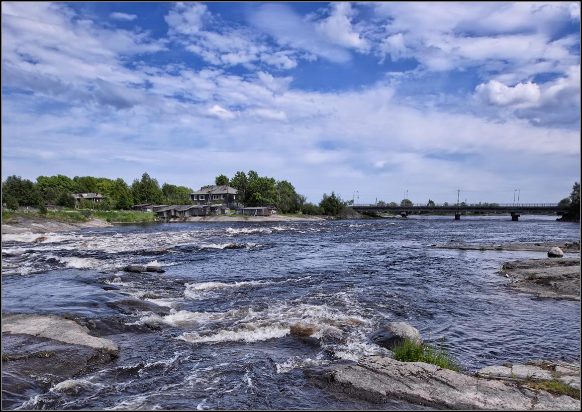 "photo ""city Belomorsk"" tags: landscape, city, travel,"
