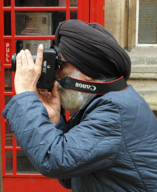 """фото """"Увлеченный фотограф"""" метки: путешествия, город,"""