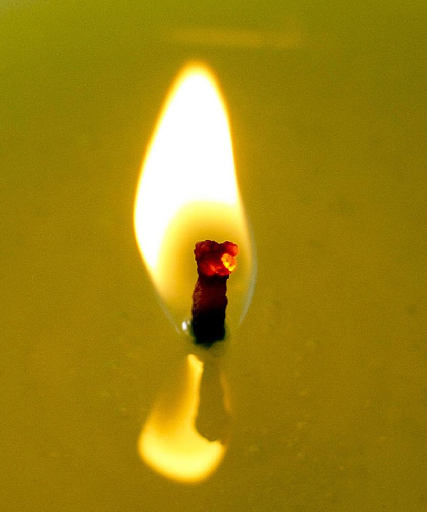 "photo ""Glowing Ember"" tags: abstract, macro and close-up,"