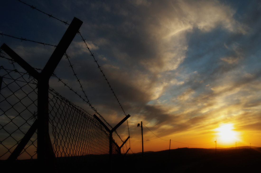 "фото ""Демаркационная линия"" метки: пейзаж,"