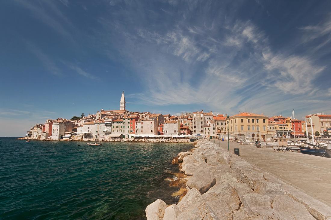"photo ""***"" tags: landscape, travel, clouds, sea, Ровинь, Хорватия"
