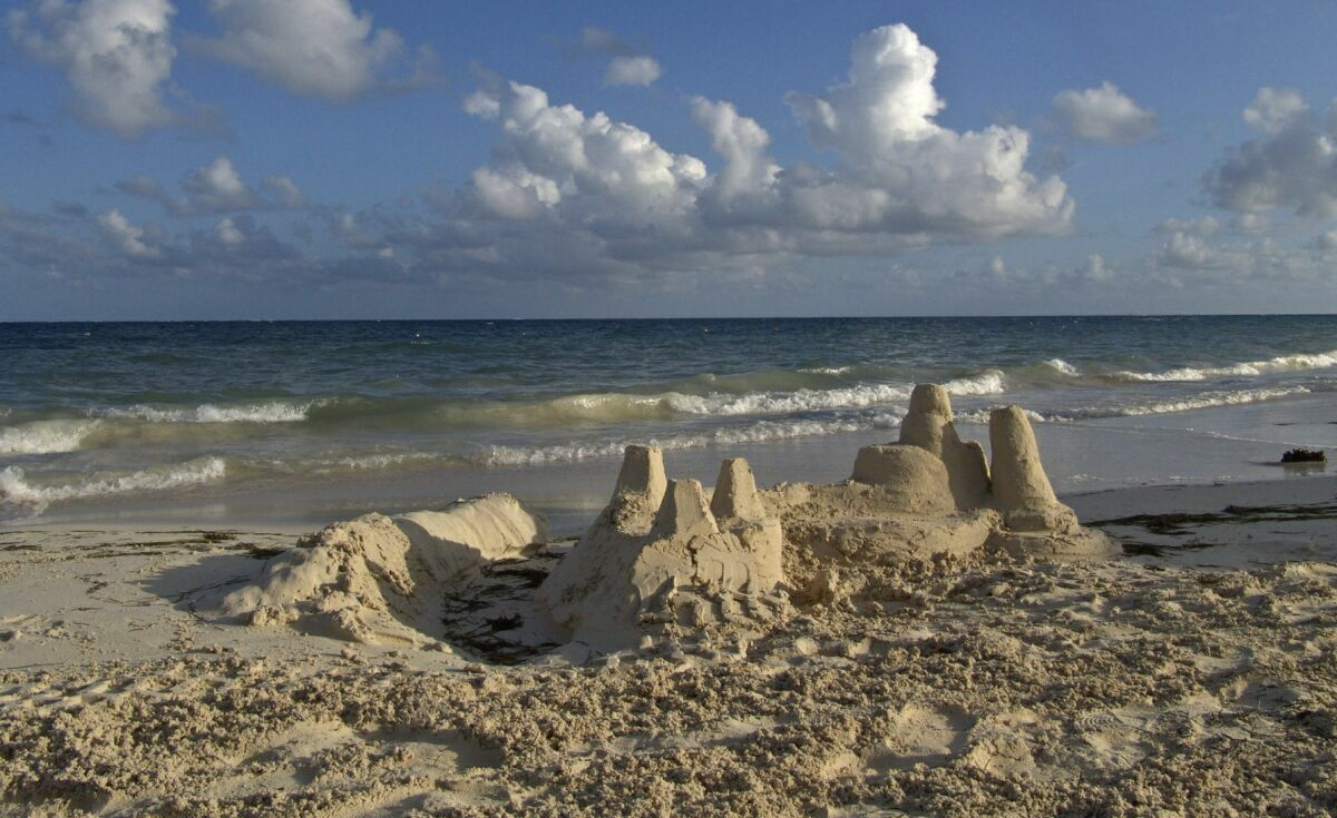 """фото """"песочные замки ...."""" метки: пейзаж,"""