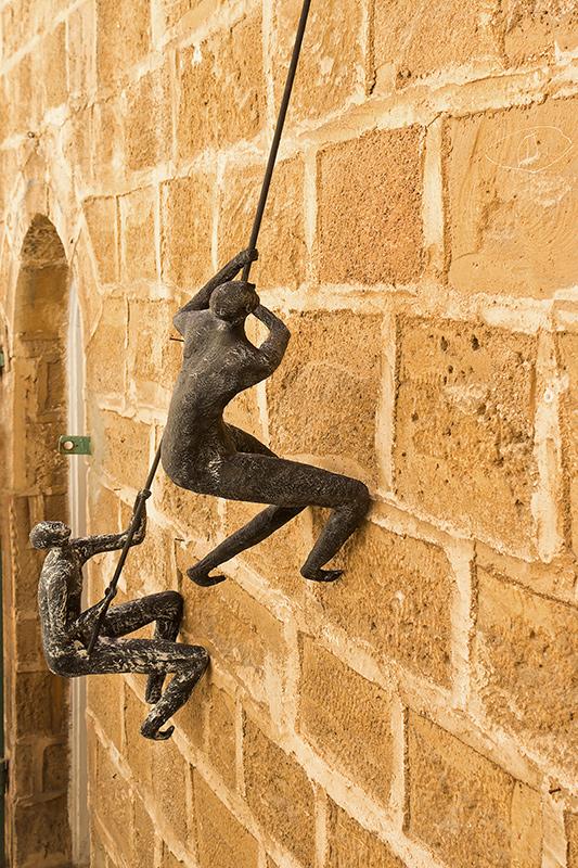"""фото """"Скалолазы"""" метки: путешествия, юмор, город, Израиль, Яффо"""