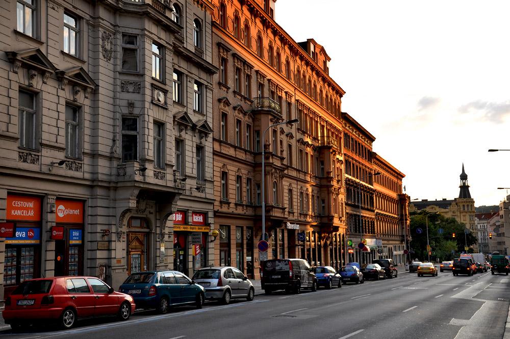 """фото """"дом заходящего солнца"""" метки: архитектура, город, Прага"""