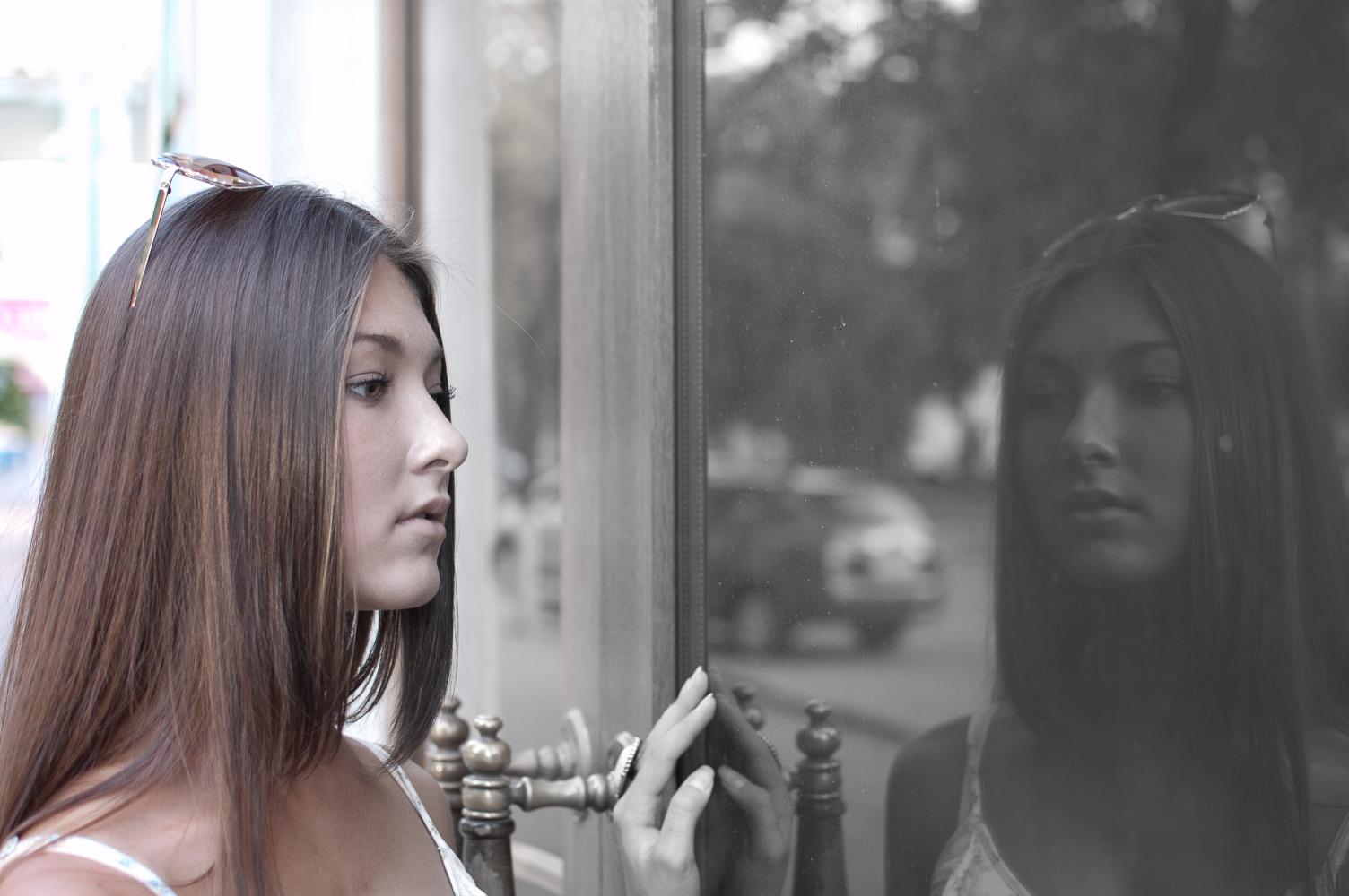 """фото """"***"""" метки: портрет, TFP, девушка, женщина, отражение"""