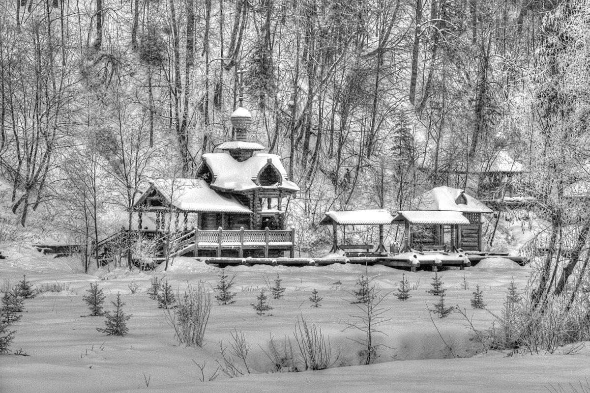 """фото """"Зима"""" метки: пейзаж, Зима купель"""