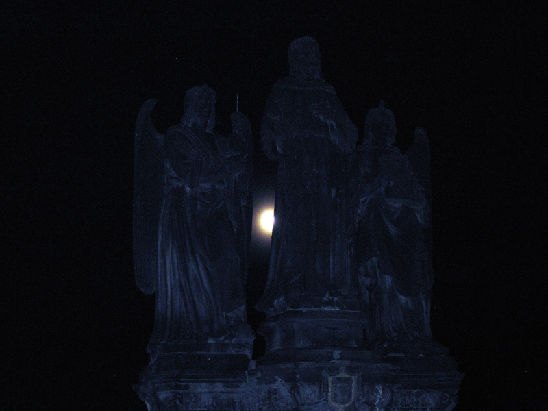 """фото """"Вглядываясь в ночь..."""" метки: путешествия, архитектура, Европа, ночь"""
