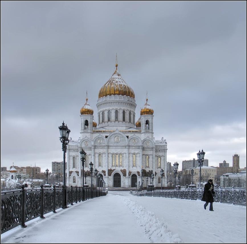 """фото """"Холодно !"""" метки: город, архитектура,"""