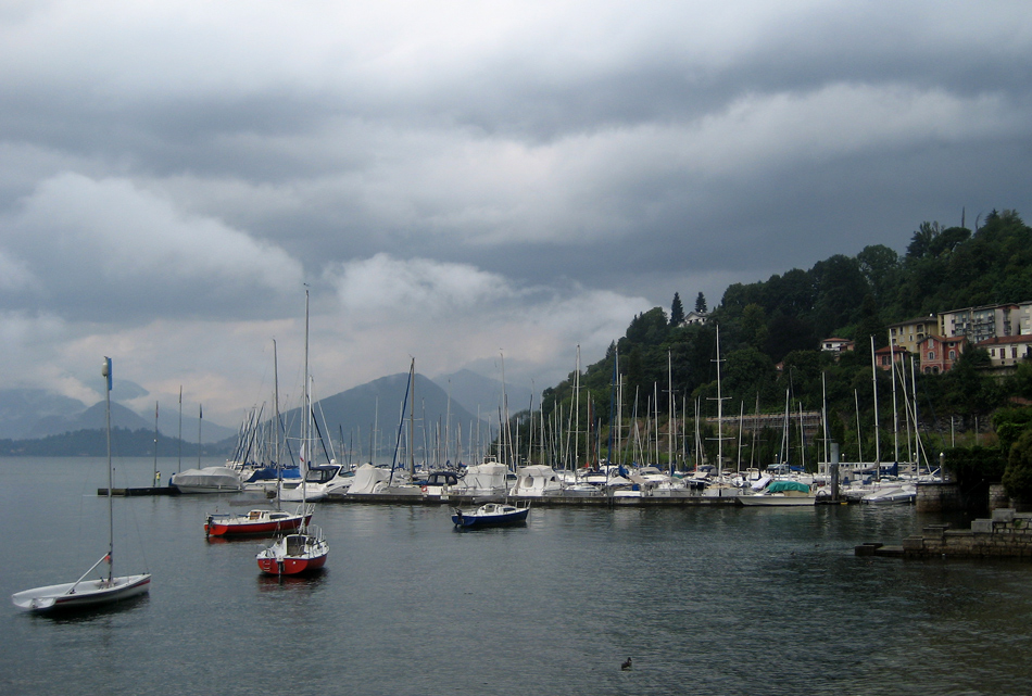 "photo ""Laveno"" tags: landscape, lake"