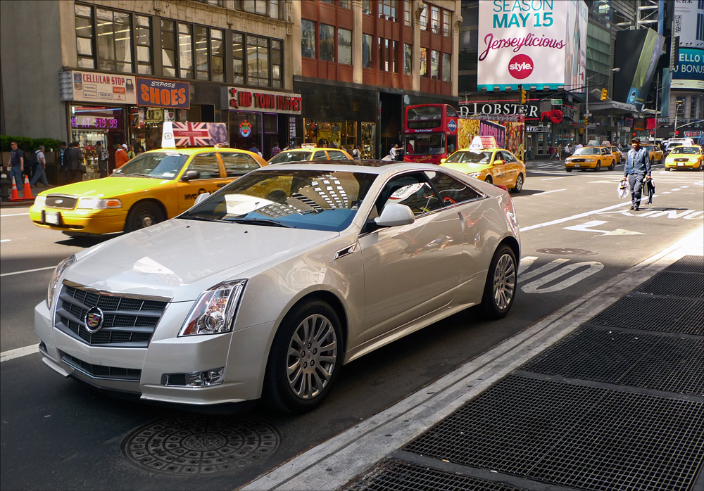 "photo ""Pursuing the Cadillac"" tags: street, technics, humor,"