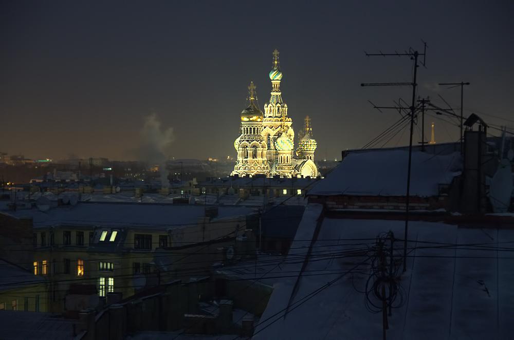 """фото """"вид на Спаса-на-крови"""" метки: город,"""