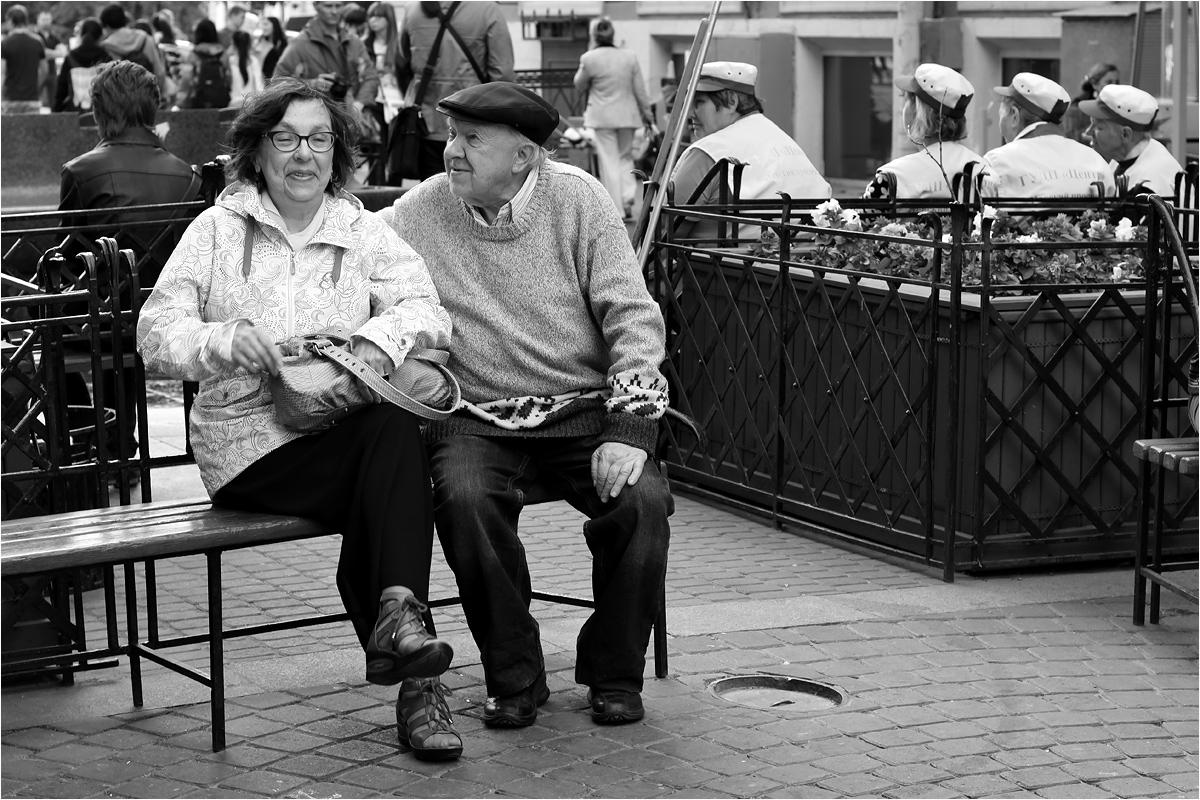 """фото """"Всё только начинается..."""" метки: жанр, черно-белые, Санкт-Петербург, весна"""