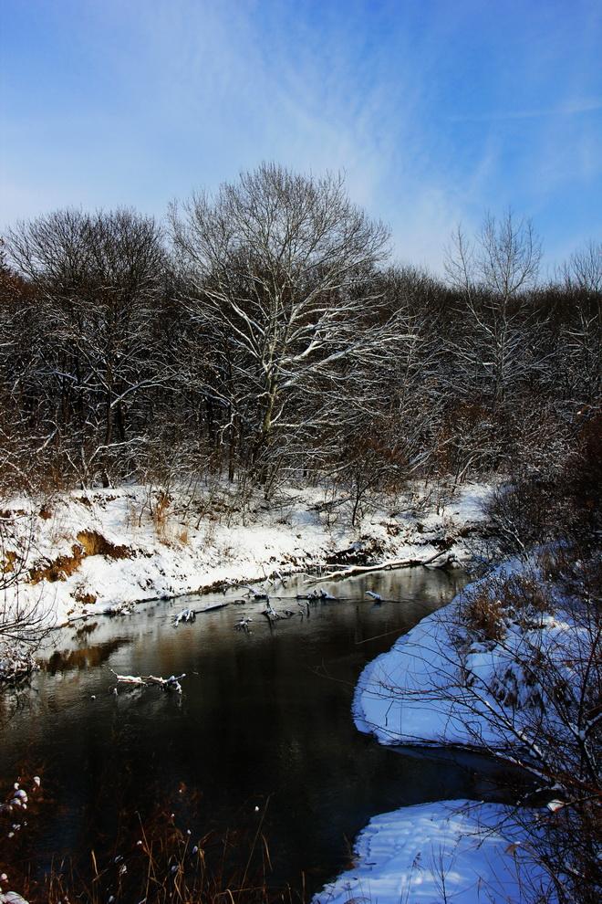 "фото ""***"" метки: пейзаж, вода, лес, облака"