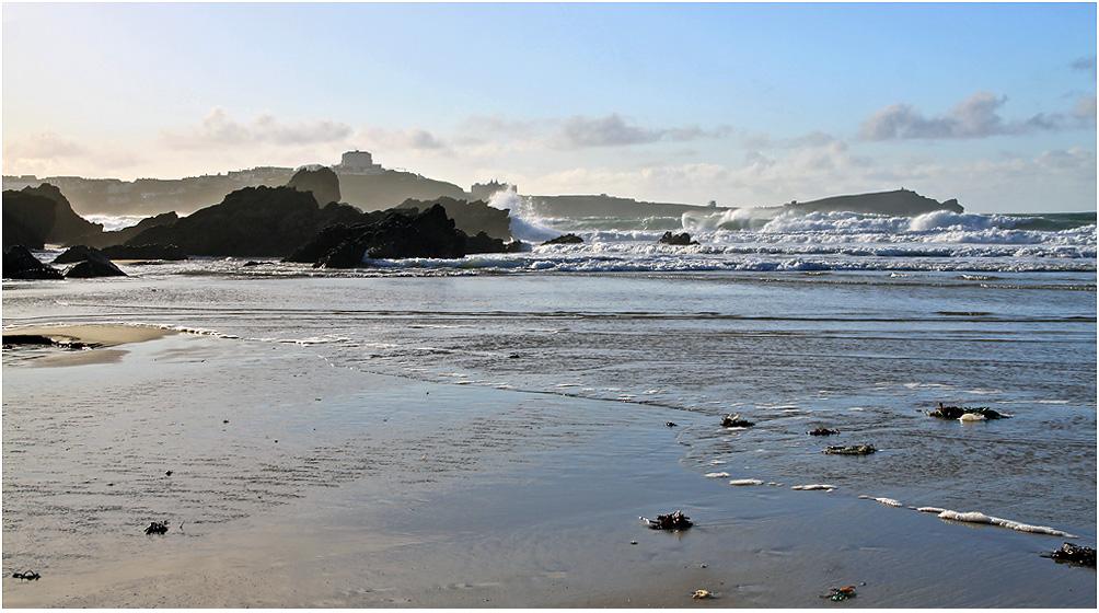 "фото ""Океан. Стихия  прилива."" метки: природа, море, море прилив, осень, прилив"