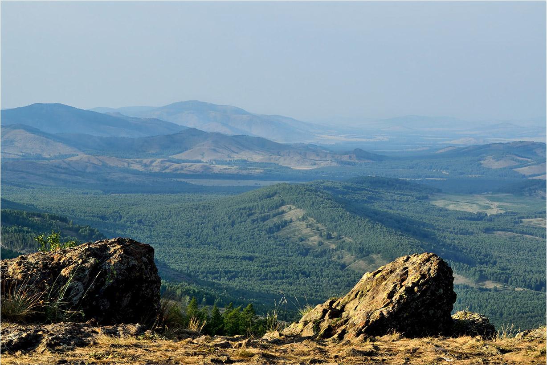 """фото """"***"""" метки: пейзаж, Южный Урал, вечер, горы, камень, лес, лето"""