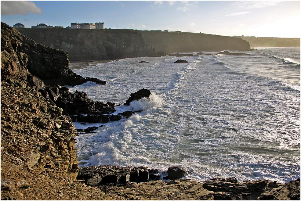 """фото """"Стихия морского прилива. Вид сбоку."""" метки: природа, пейзаж, море прилив"""