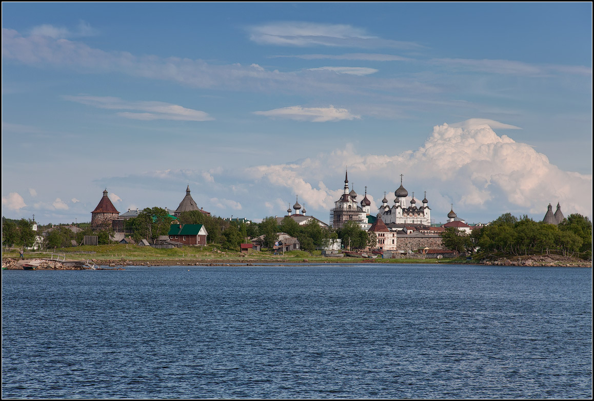 "photo ""Solovetsky Monastery"" tags: landscape, architecture, travel,"