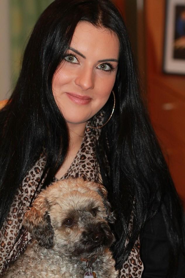 """фото """"Дама с собачкой ..."""" метки: портрет,"""