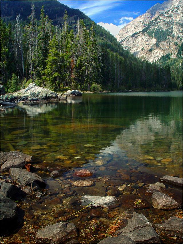 """фото """"Вода и горы"""" метки: пейзаж, вода, горы"""