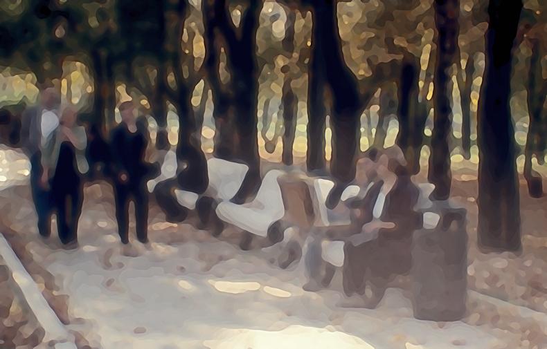 """фото """"Осенний бульвар."""" метки: digital art,"""