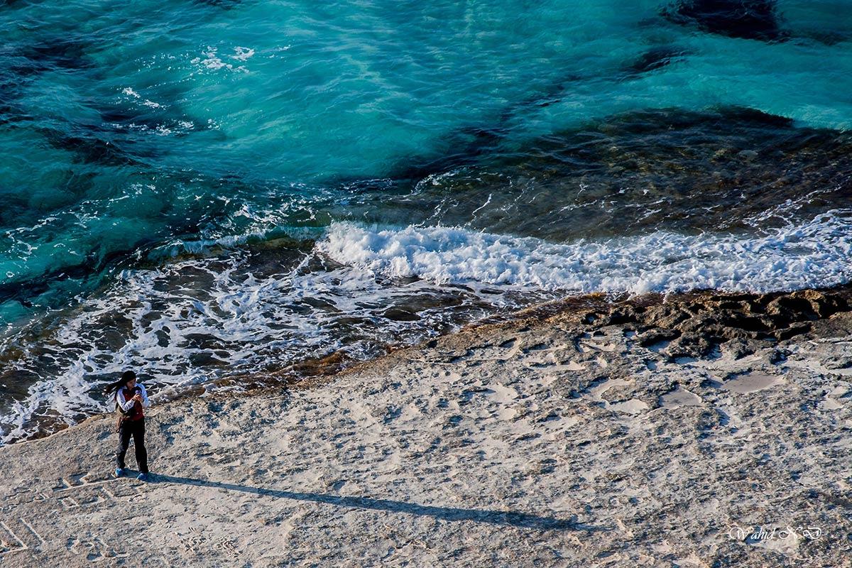 "фото ""Long shadow"" метки: пейзаж, портрет, woman, Африка, вода"