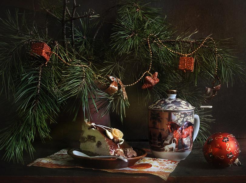 """фото """"Новогоднее чаепитие"""" метки: натюрморт,"""