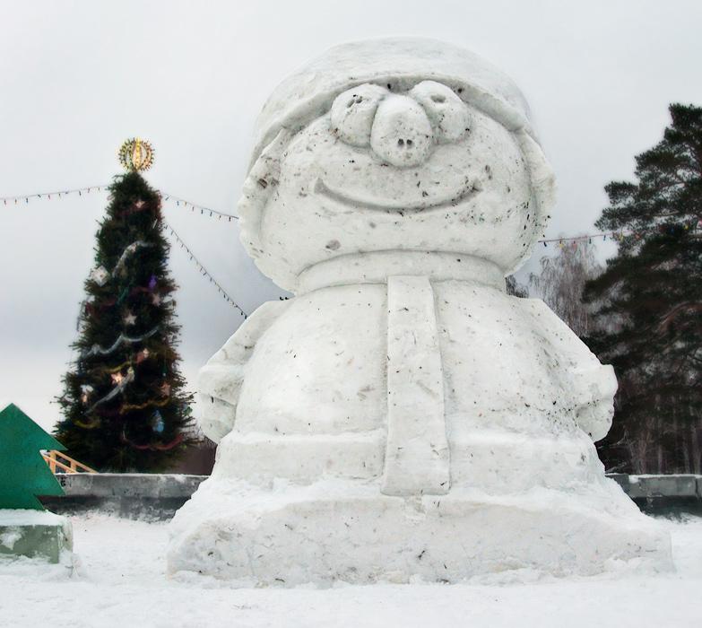 """фото """"С Новым Годом!"""" метки: юмор, разное, город, Вот такая у нас Снегурочка в э"""