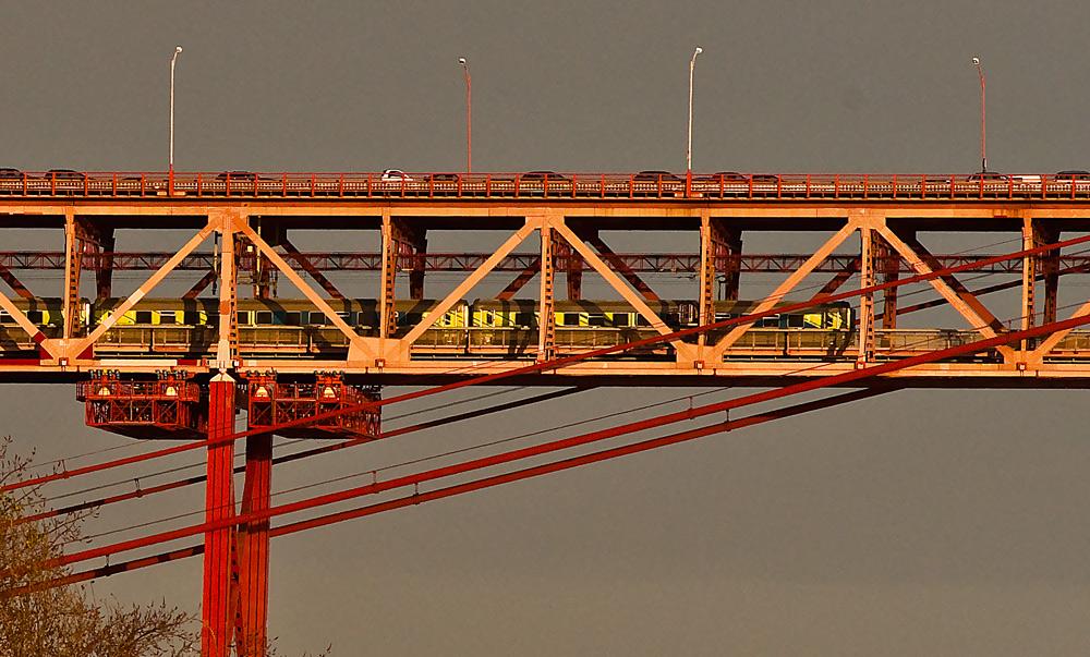 "фото ""Lisbon ""April 25th Bridge"""" метки: архитектура, техника, путешествия, Europe, Lisbon, Tagus, Tejo, connection, harbour, portugal, span, вода"