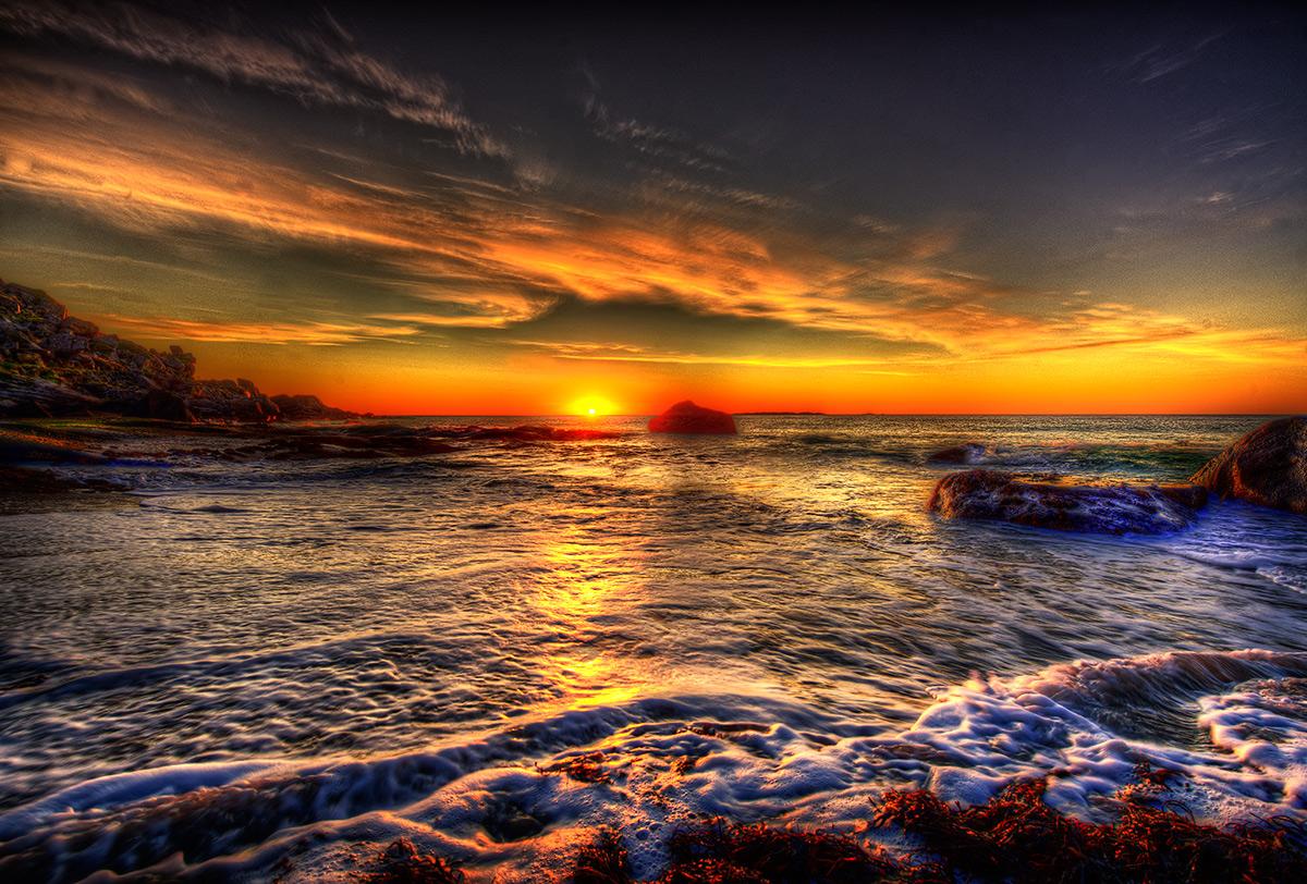 """фото """"Sundown..."""" метки: , Europe, night, summer, вода"""